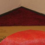 Egalbase Rood zelfklevend ondertapijt