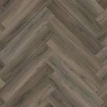 PVC Ambiant Spigato Collection Dark Grey 3506 Visgraat Gluedown