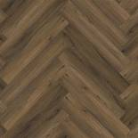 PVC Ambiant Spigato Collection Warm Brown 3501 Visgraat Gluedown