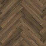 Ambiant Spigato Warm Brown PVC | Visgraat | Kliksysteem